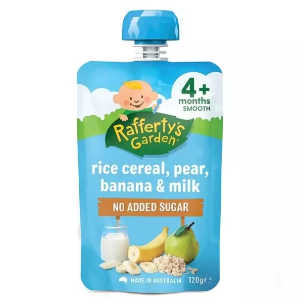 Rafferty's Garden Organic Baby Rice Cereal