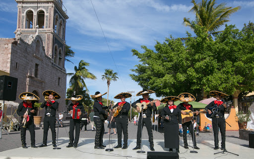 Mariachi band.jpg - A Mexican mariachi band took part in the festivities that Loreto put on to complement the JoCo Cruise visitors.