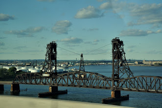 Photo: Railroad bridge from the bus