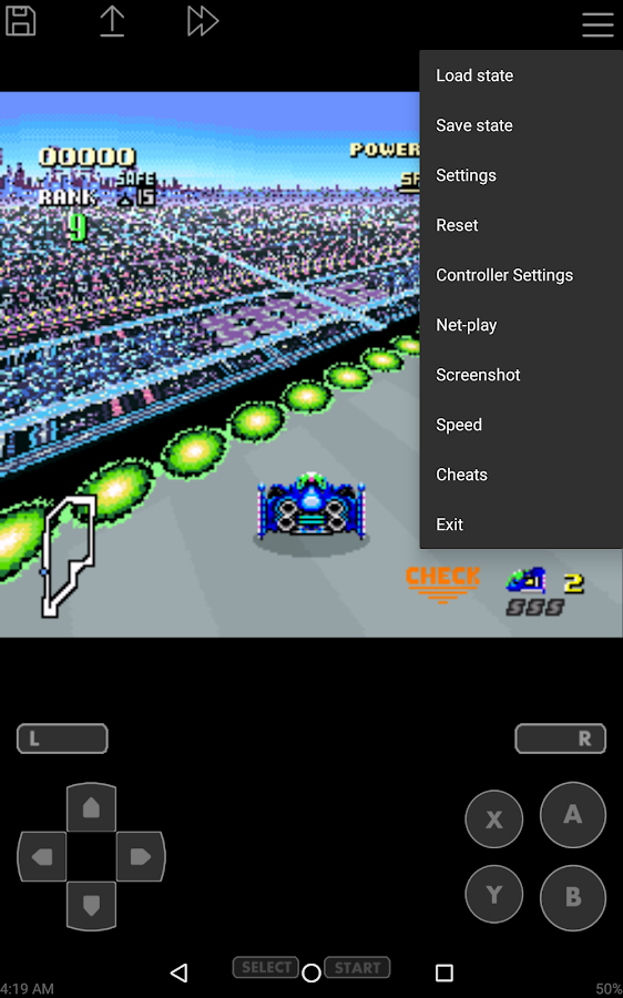 John SNES Lite - SNES Emulator- screenshot