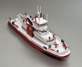 Photo: FDNY Fireboat Three Forty Three STBD Bow