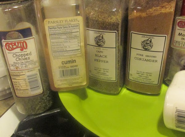 NIGHT BEFORE: Assemble all the spices that you will be using.Combine them in a...
