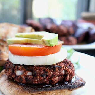 Gluten Free & Vegan Quinoa Beet Burger