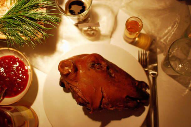 İğrenç Yiyecekler - Koyun kellesi