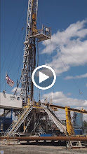 Video: Watching the drill string go down.