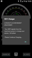 Screenshot of WIFI Charger Prank