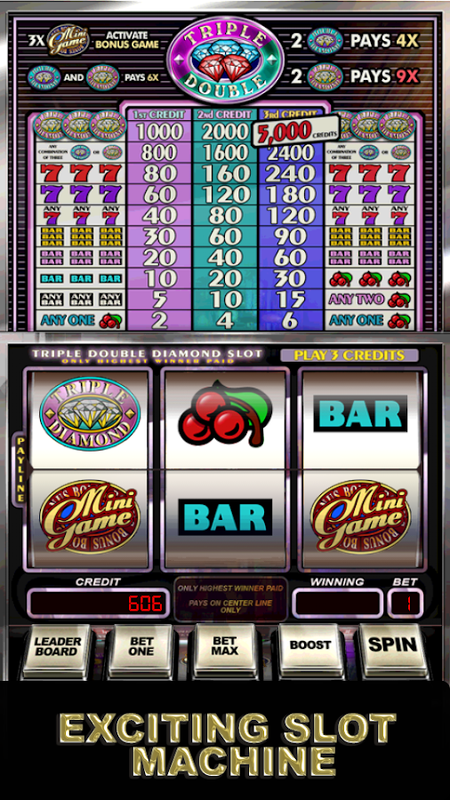 Triple Double Diamond Slot Machine Free Play