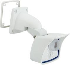 Photo: Mobotix M24 IP camera, wall mounted, side