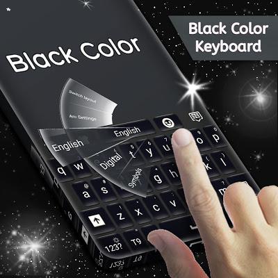 Black Color Keyboard - screenshot