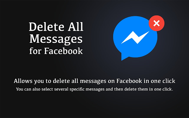 Delete All Messages for Facebook™