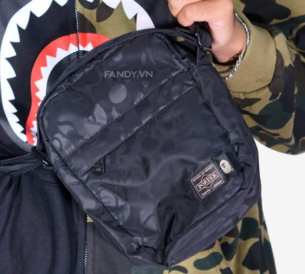 Những chiếc túi mini x porter đặc trưng của giáo đồ bape