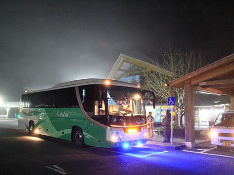 近鉄バス「しまんとブルーライナー」 8804 道の駅あぐり窪川にて