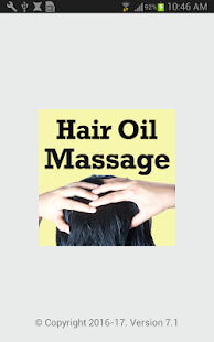 Hair Oil Head Massage Videos for Mental Relaxation - náhled