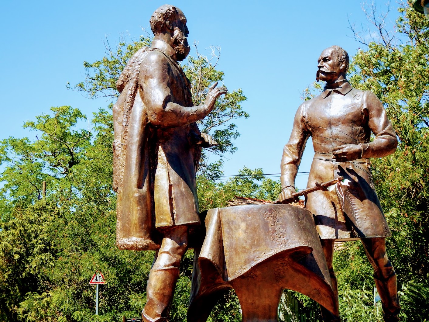 Sukoró - Batthyány Lajos és Móga János párbeszéde