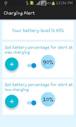 Charging Alert