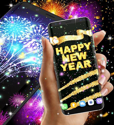 Happy new year 2020 live wallpaper 13.8 screenshots 5