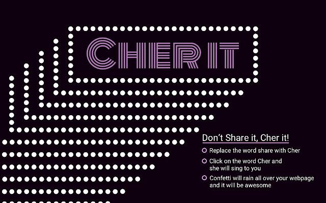 Cher It!