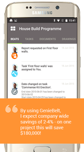 GenieBelt- screenshot
