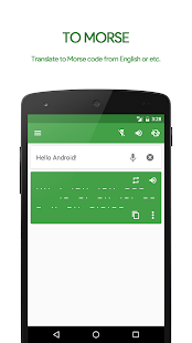 M³ Translator: Morse code Screenshot