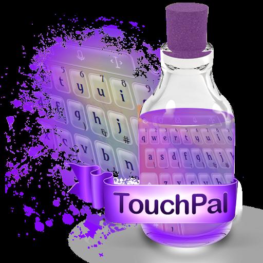 紫色顏料 TouchPal 個人化 App LOGO-硬是要APP
