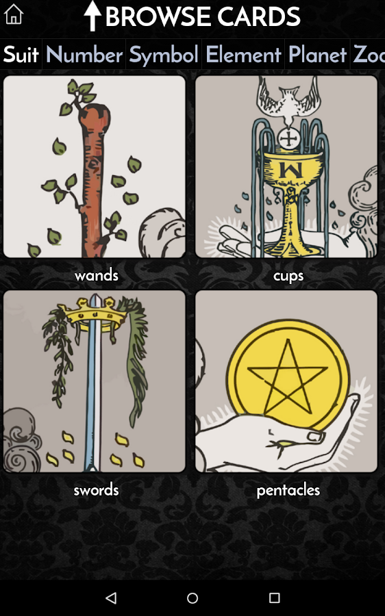 Galaxy Tarot- screenshot