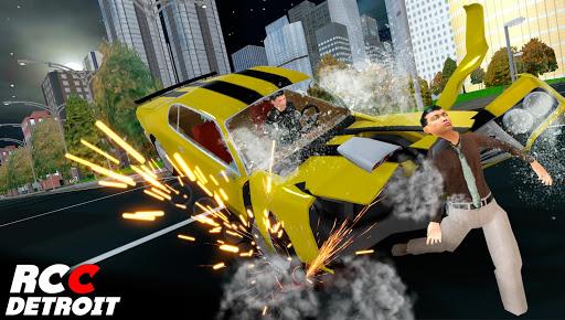 Real Car Crash Detroit