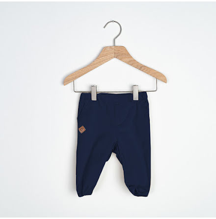 Sammie - Navy blue chinos pant for baby