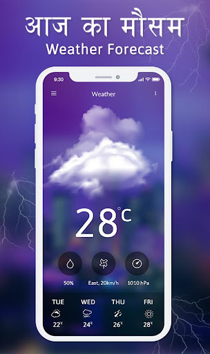 Screenshot for Weather Forecast – Live Weather News App in United States Play Store