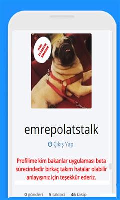 Stalkci - screenshot