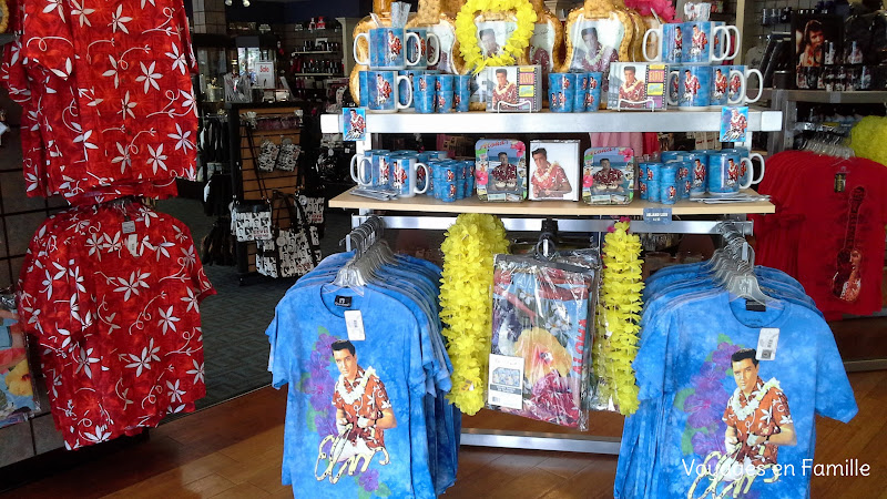 Graceland souvenir shops