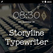 Storyline Typewriter FlipFont