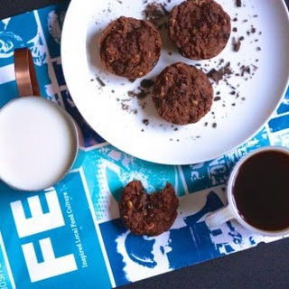 Double Chocolate Breakfast Brownies