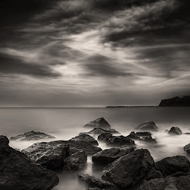 Before the storm... by Dimitar Balyamski - Black & White Landscapes