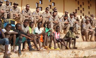 Misión de la Legión en Mali