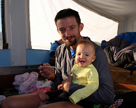 Photo: They morning after our first 26 hrs portion of the adventure.  This picture captures the meaning of life for me.
