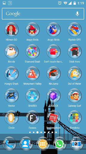 Glass 3D Icon Pack  screenshots 7
