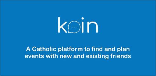 Image result for koin app catholic