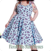 Floral Plus Size Dresses