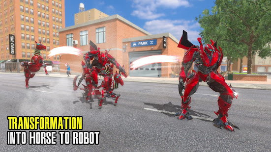 Download Super Horse Robot Transform: Flying Helicopter For PC Windows and Mac apk screenshot 18