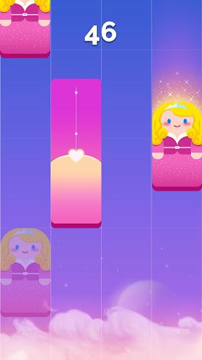 Magic Castle Piano Tiles:  Free Rhythm Music Games apkpoly screenshots 5