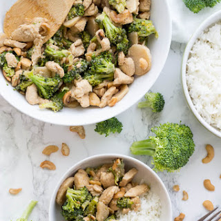 Broccoli Cashew Chicken Stir Fry