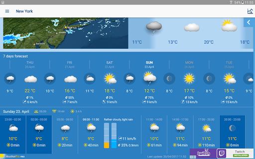 WeatherPro Free  screenshots 7