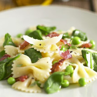 Bow Tie Pasta With Peas Recipes.