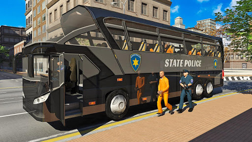 US Prison Transport: Police Bus Driving for PC