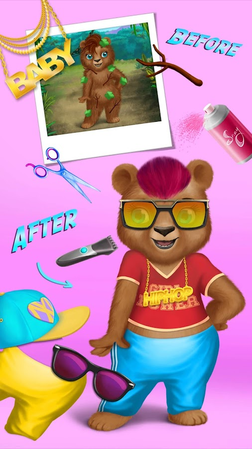 Jungle Animal Hair Salon- screenshot