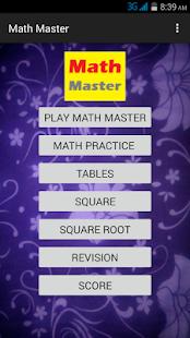 Math Master - náhled