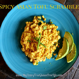 Spicy Asian Tofu Scramble.