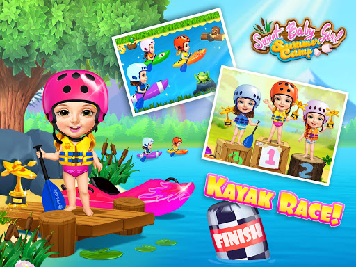 Sweet Baby Girl Summer Camp - Kids Camping Club  screenshots 12
