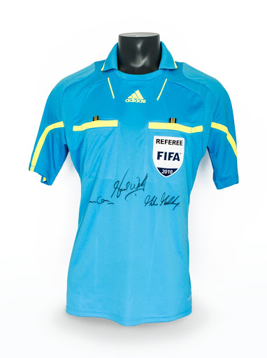 2010 FIFA World Cup referee shirt, Howard Webb
