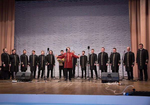 Концерт хора Валаамского монастыря в поселке Добринка Липецкой области 20 января 2017 г.